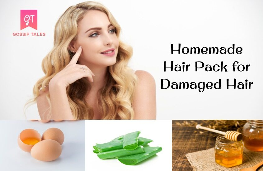 Homemade Hair Pack for Dull and Damaged Hair