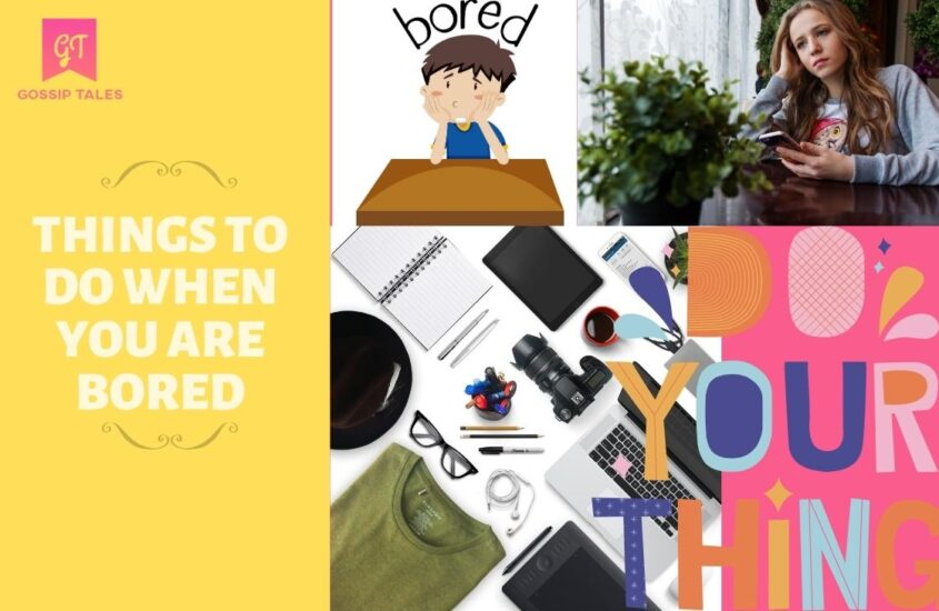 40 Fun and Productive Things to Do When You are Bored